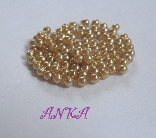 3 mm zlaté 100ks