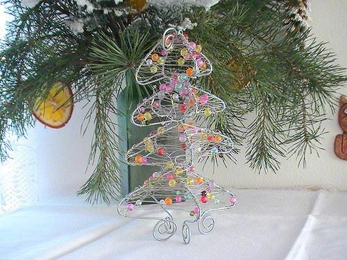 Korálkový stromeček