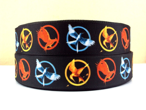 Stuha rypsová š.25 mm: Hunger Games
