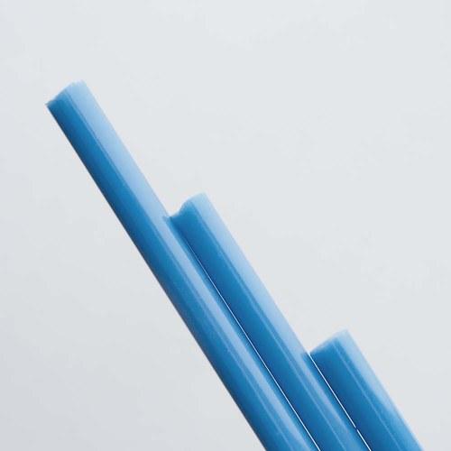 světle modrá pastelová, neprůhledná