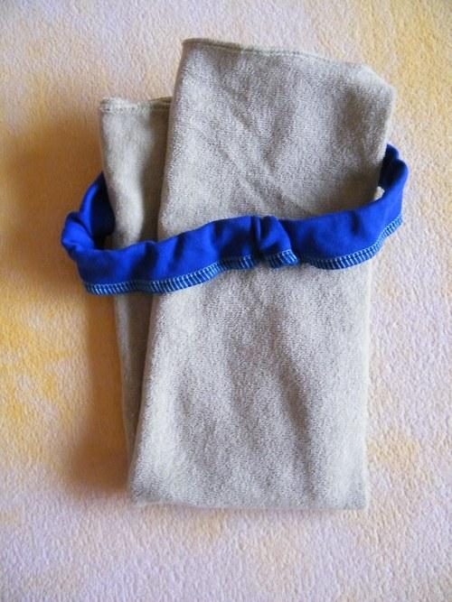 Tunýlek pro bezplenkovou metodu modrý