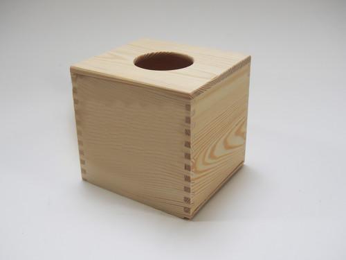 Krabička na kapesníky - ČTVEREC (KAPESMA2-MASIV)