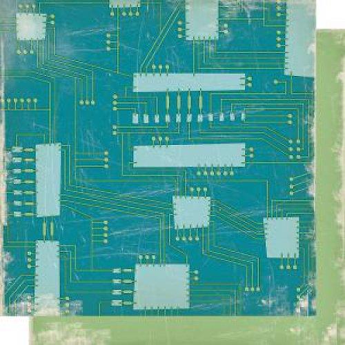 Papír Logic Board - kolekce Cogsmo