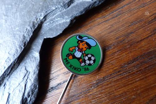 Mexiko 1986...fotbal, starý odznak