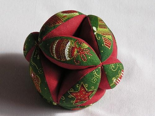 Japonský balonek - Green Christmas