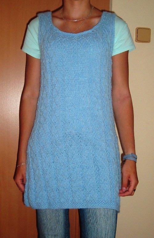 teplé a měkoučké šaty, tunika