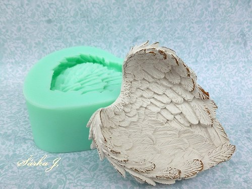 silikonová forma - andělská křídla