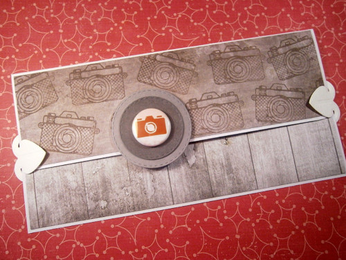 Pánské dlouhlé přání se zdob. kartičkou a plackou