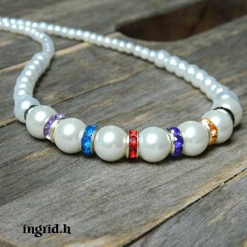 Štrasový Perlen