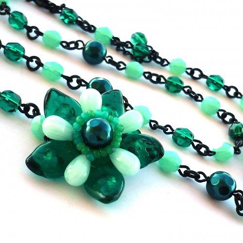 Rákosníčkova květina - náhrdelník - 20% sleva!!!