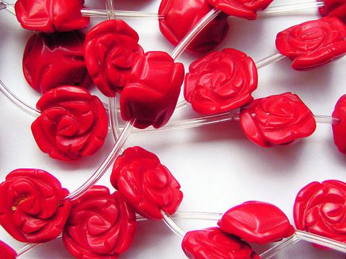 Červená růžička ((PM153))