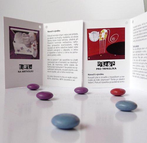 kartička - návod k výrobku