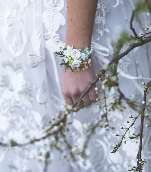 "Květinový náramek \""duše rozkvetlá\"""