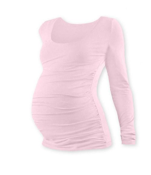 Těhotenské tričko DR světle růžové