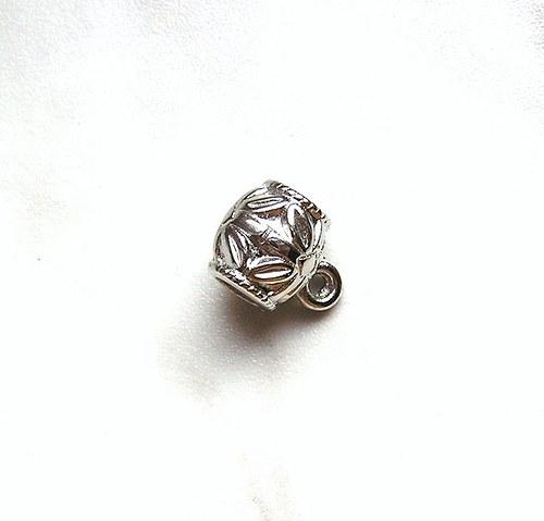 Korálek pokovený, 10 mm - 1 kus