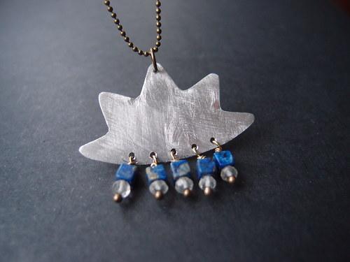 Kolekce \'\'Exchange\'\': Náhrdelník \'\'Modrý lotus\'\'