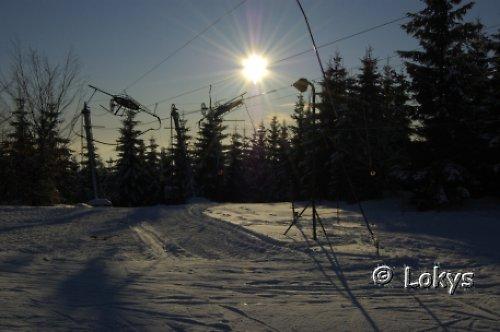 Krása lyžování