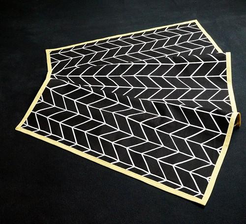 Středový ubrus - geometrie