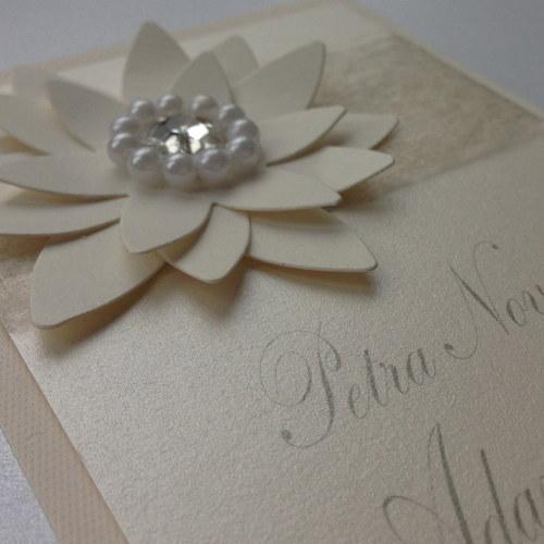 Svatební oznámení - Květina I.