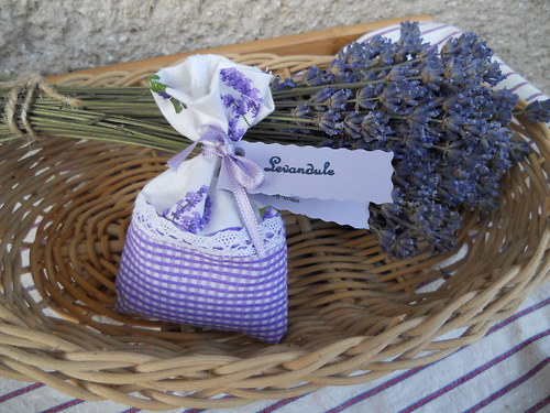 Levandulový pytlíček - fialový s levandulí
