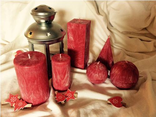 Svíčky s vůní VÁNOC
