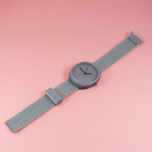 Designové hodinky duha silver