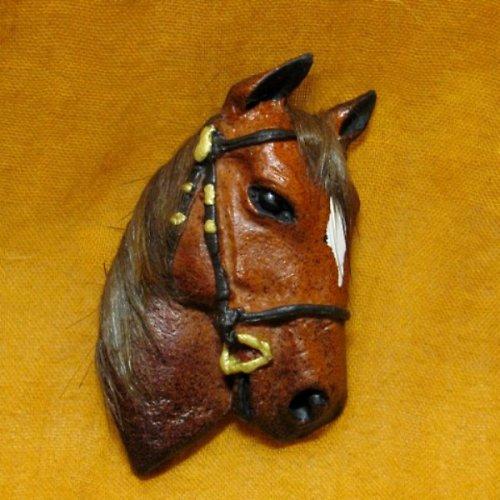 Koníková hlava - brož