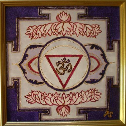 Indická jantra Jantra třetího oka