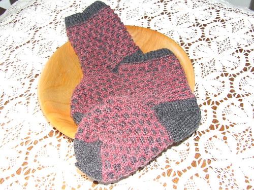 Ponožky šedolila č.39-40