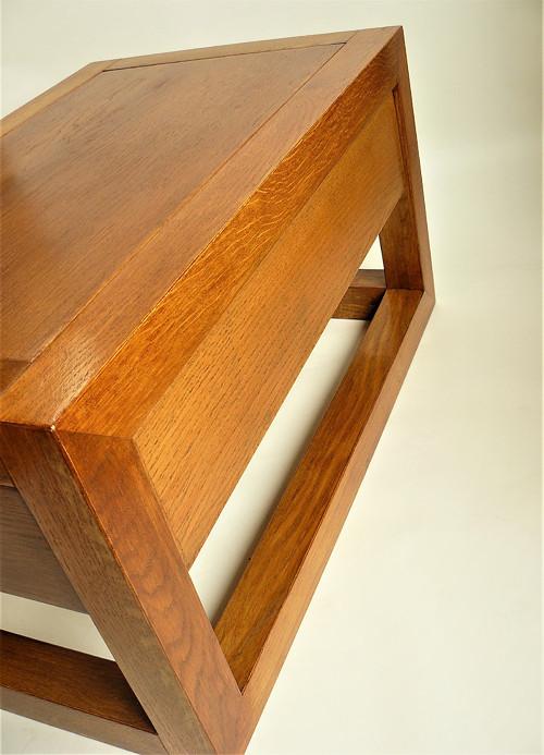 Dubová komoda, noční stolek
