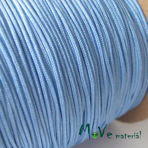 Nylonová pletená šňůra - 1mm/3m, sv. modrá