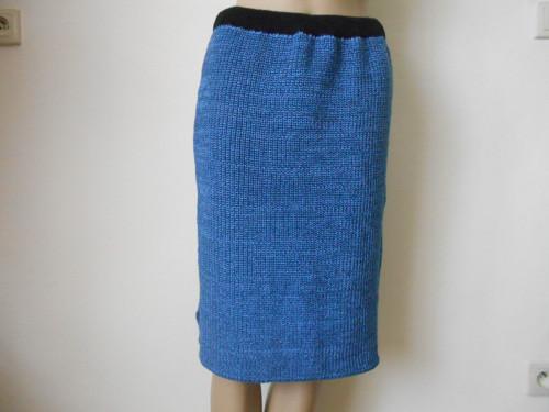 Dámská pletená sukně