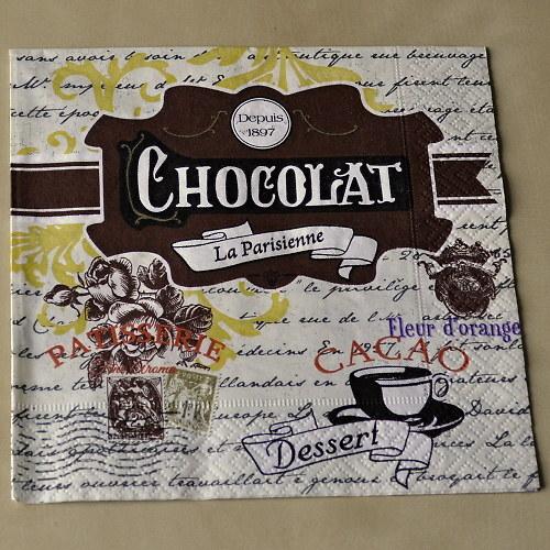 Ubrousek - Chocolat