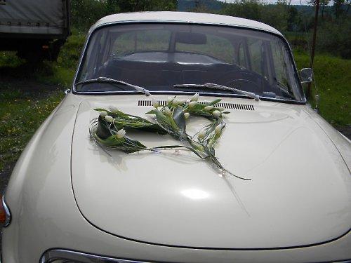 Svatební autokorsáž