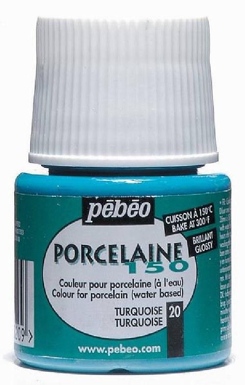 Barva PORCELAINE 150 - barva 20 (tyrkysová)