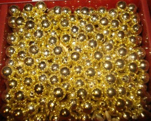 Lata perle zlaté 6mm