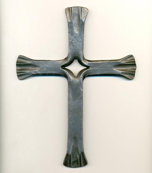 kovaný kříž I