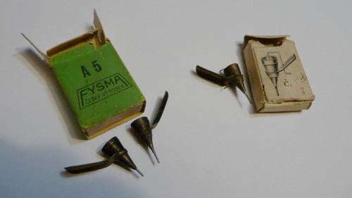 Trubičková pera na rýsování
