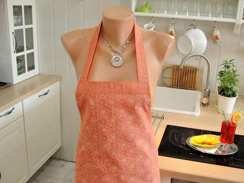 Mini zástěra na vaření - oranžáda 2