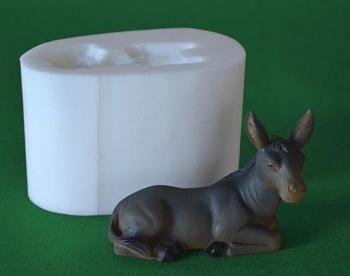 Forma na svíčky Oslík vel. 8cm