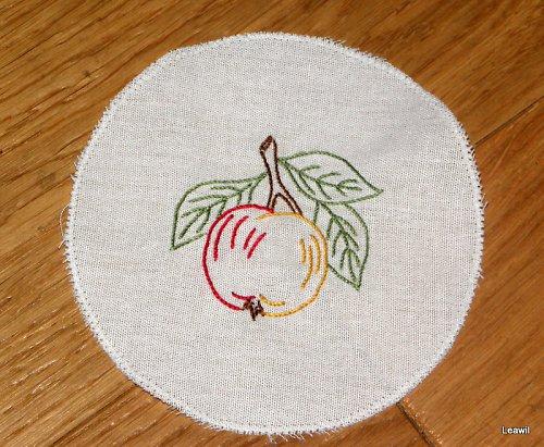 Podložka, obrázek - jablíčko