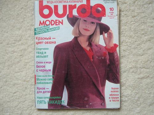 Burda č.10 ročník 1989