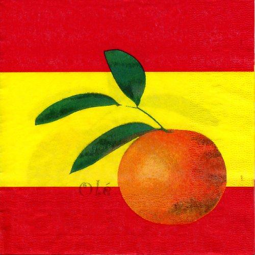Ubrousek s mandarinkou
