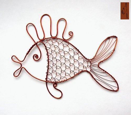 Vánoční  maxi ryba - pankáč :-)