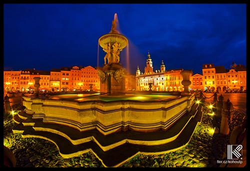 České Budějovice | fotografie 34 x 23 cm
