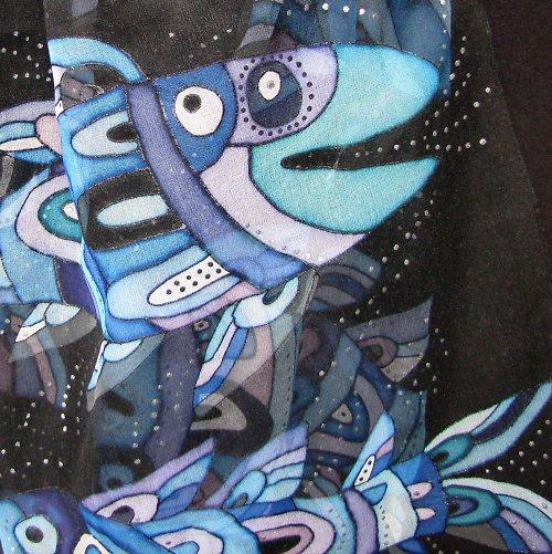 Modré rybky