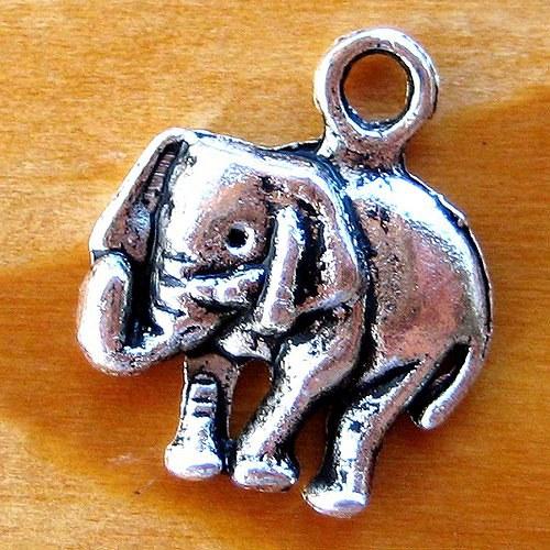 Slon - 2ks - Platinový