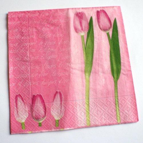 Tulipánový ubrousek