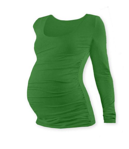 Těhotenské tričko DR tmavě zelené