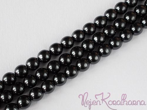 Voskové perle černá 8mm